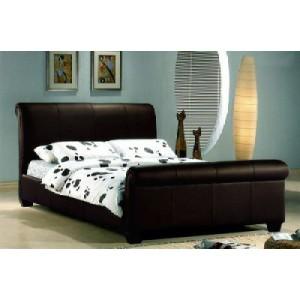 Tuscany Sleigh Double Bed