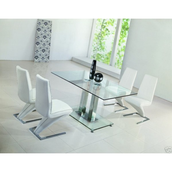 Fabulous Z Table with Glass Dining Room Chairs 600 x 600 · 51 kB · jpeg